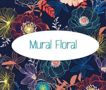 "Mural ""Floral"""
