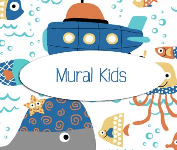 """Mural """"Kids"""""""